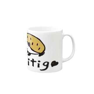 kiitigoさんのハリネズミ Mugs