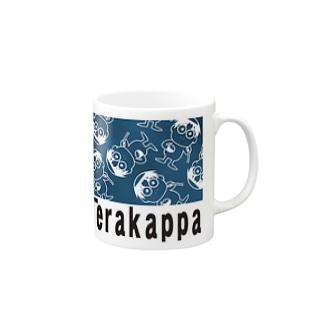 Terakappaロゴ Mugs