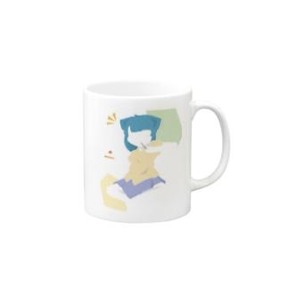 小雨屋さんは静かに暮らしていたいの少女は年中無休 Mugs