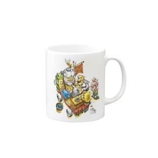 ビアガーデン Mugs