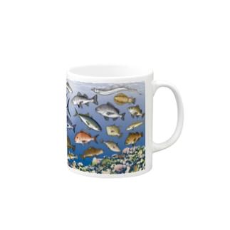 KAISUIGYO_1C_MG Mugs