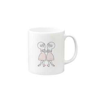 きもまるバレエ-海と真珠 Mugs