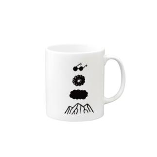 モクモクヤマ Mugs