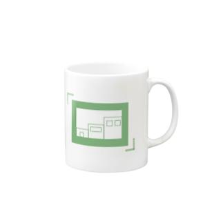 ファインダーの中の建物 Mugs