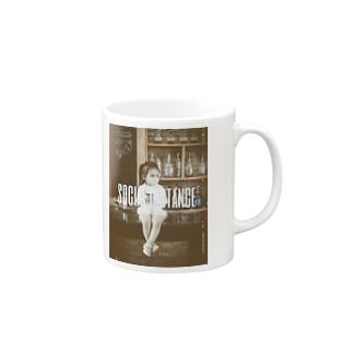 【social distance】 Mugs