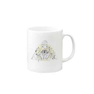 memeくん Mugs