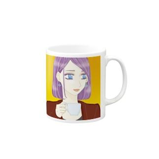 コーヒーブレイク中 Mugs