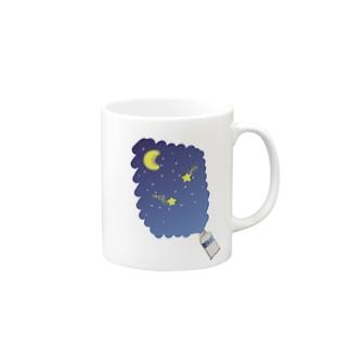 Yakka-の星空の絵具 Mug