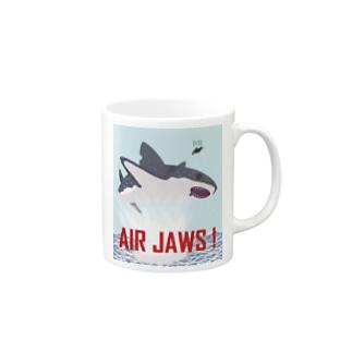 AIR JAWS! ごー!はー!…ん? Mugs