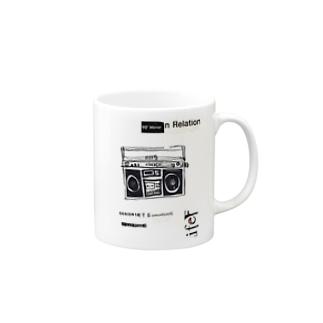 1980ラジカセ Mugs