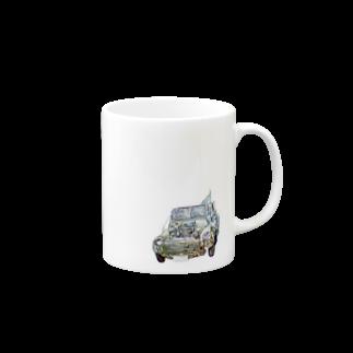 ボぶの廃車 Mugs
