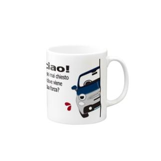 ひょっこりあばちん 695C RIVARE  Mugs