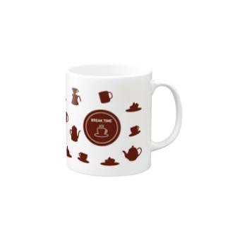 お茶の時間 Mugs