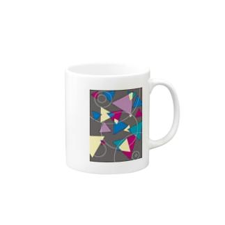 三角とマル Mugs