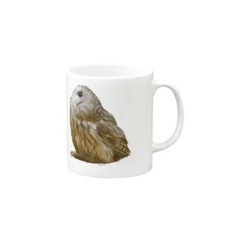 モリフクロウ Mugs