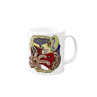 蛸の夜空 Mugs