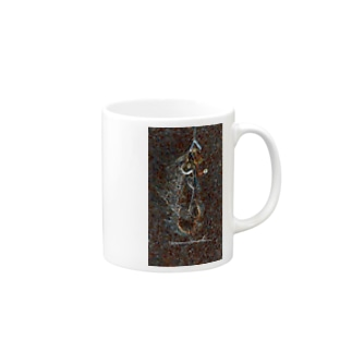 Surfing  on the Milky Way Mugs