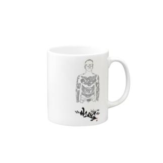 アナーキーサラリーマン Mugs