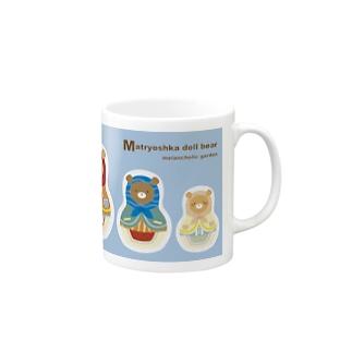マトリョーシカベア Mugs