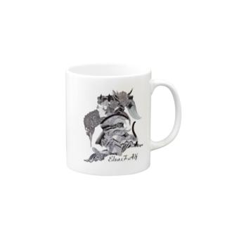 Elza.F.Alf マグカップ