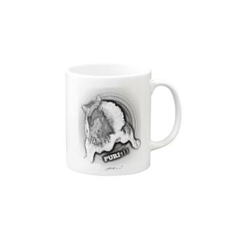 マロマロのKUROSHIBA PURIッ!! Mugs