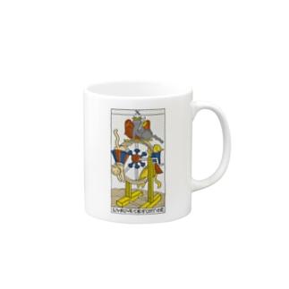ネコタロット(運命の輪) Mugs