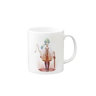 【緑野 彩香】オリジナルグッズ Mugs