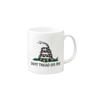 Dont Tread On Me Gadsden Flag Mugs