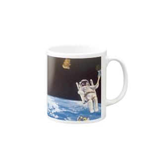 宇宙旅行 Mugs