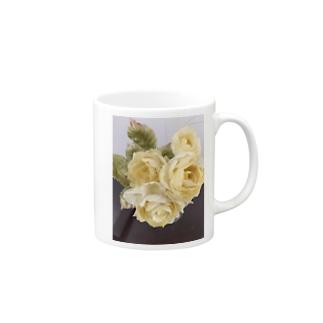 黄薔薇 Mugs