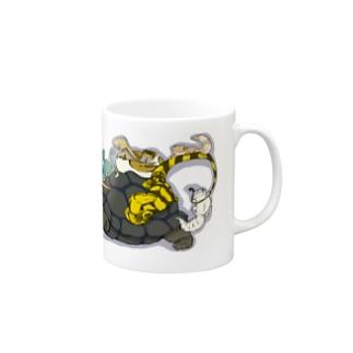 レプキングッズ Mugs
