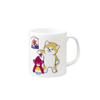 秋田犬のカキ氷屋さん Mugs