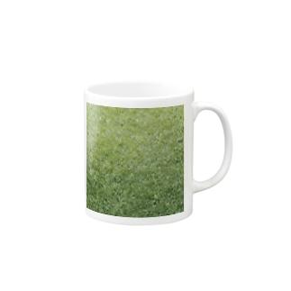 GRASS-芝 Mugs