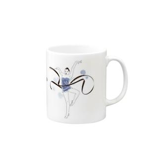 リボンクール女子 マグカップ