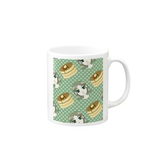 ホットケーキとトキコちゃん Mugs