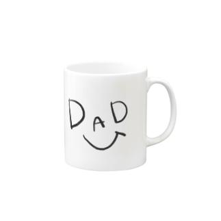 仲良し家族。【dad】 Mugs
