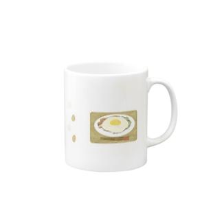 朝ご飯は目玉焼き Mug