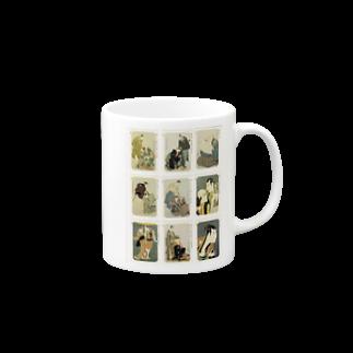 安永峰夫の写楽Bマグカップ
