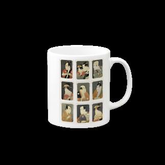 安永峰夫の写楽C マグカップ