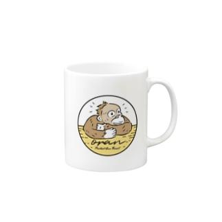 オラン (サークルロゴS) Mugs