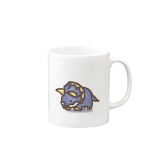 クレヨン トリケラトプスくん Mugs