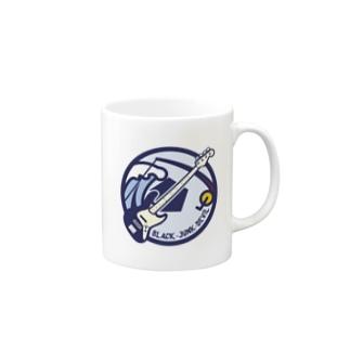 パ紋No.2768 BLACK-junk-DEVIL Mugs
