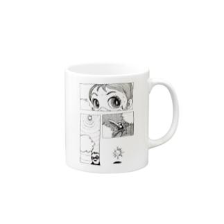 ヤノベケンジ《サン・チャイルド》(コマ割り) Mugs