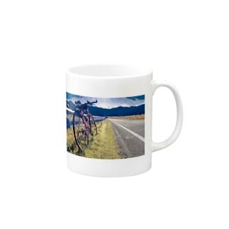 田舎サイクリング Mugs