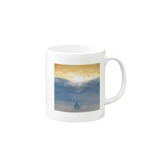 Mermaid of sunset Mugs
