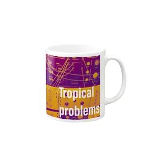 Dr.イエロー46のTropical problems Mugs