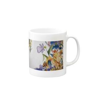 鳥と妖精 Mugs