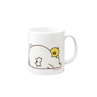 クマもっち。 マグカップ