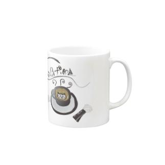 カフェラテ猫マグカップ Mugs