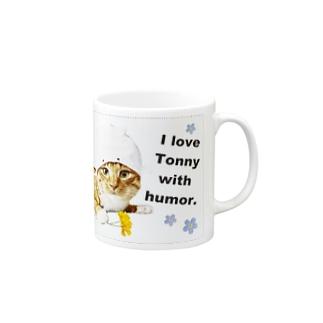 Tonnyくん Mugs